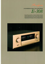 DEPLIANT accuphase e-308 b572