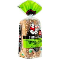 3 PK of DAVE'S KILLER BREAD THIN SLICED 21 WHOLE GRAINS AND SEEDS  70 CALORIES