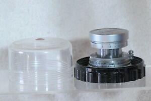 Leica Summicron 50mm F2 Collapsible Lens w/Caps & Plastic Case