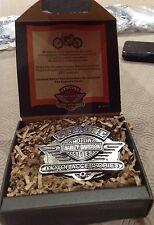 Harley-Davidson collectors 1995 dealer show Limited Numbered 1810 belt buckle