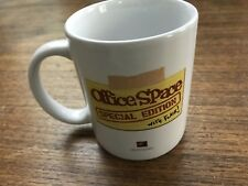 "Office Space Coffee Mug Special Edition ""Um Yeah"" Bill Lumbergh Initech 2005"