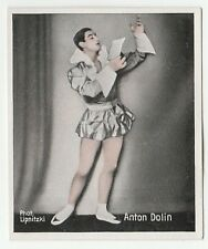 1930s German Dance Floors Of The World Tobacco card #061 Anton Dolin