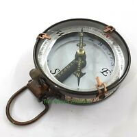 Brass Spencer Compass Maritime Collectible Gift
