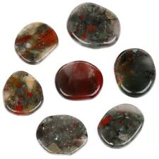 Natural Africa Blood stone Plam stone Crystal Reiki healing Sold by 7/pcs PS115