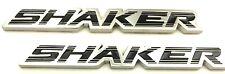 x2 Shaker Hood Emblem / Badge for Dodge Challenger Charger Replaces OEM Mopar