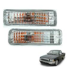 For88-97 Toyota Hilux Mk3 Ln85 Ln106 Clear Csytal Front Bumper Indicator Lamp