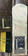 1952 Helsinki Olympic PRESS / PARTICIPATION BADGE / VERY RARE!