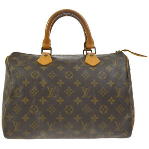 LOUIS VUITTON SPEEDY 30 HAND BAG PURSE MONOGRAM CANVAS M41526 cj 37246