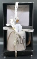 Rae Dunn – WISH Porcelain Necklace & Mug Gift Set Wrapped in Gift Box Wedding