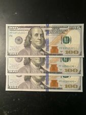 2017 $100 One Hundred Dollar Bill *Star Note*, Low Serial Numbers