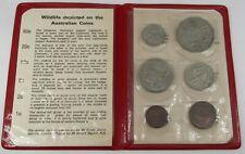 1972 Roya 00004000 l Australian Mint Wildlife Uncirculated Coin Set - Free Shipping