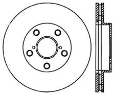 Disc Brake Rotor-High Performance Slotted Centric fits 01-05 Toyota RAV4