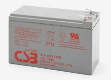 BATTERY CSB XTV1272 12V 7.2 Ah RECHARGEABLE VRLA 12 YEAR LIFE IN STANDBY 7 EACH