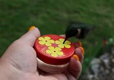 HUM-Drum™ 3 Port Mini Hand Held Hummingbird Feeder, New Style!