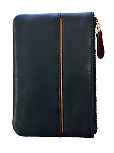 Tod London Black Leather Key Wallet for Large Keys