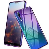 Farbwechsel Handy Hülle Huawei Y7 2018 Slim Case Schutz Cover Tasche