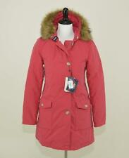 NWT $895 J. CREW WOOLRICH JOHN RICH & BROS ARTIC DOWN WOMEN'S PARKA COAT M RED