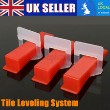Plastic Tile Leveling Spacer System Tools Clip / Wedge / Flooring Lippage