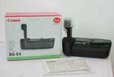 Canon Battery Grip BG-E4 For EOS 5D MK1 With  BGM-E2 Battery Magazine. Boxed.