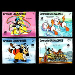 Grenada Gr 1988 - Olympic Games - Seoul, South Korea Disney - Sc 939/41,6 MNH