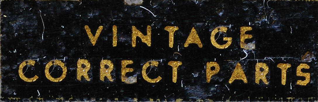 vintagecorrect