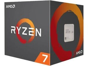 AMD Ryzen 7 2700x 3.7 GHz 8-core Processor withWraith Prism LED Cooler - BNIB