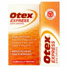 OTEX Express Ear Drops Dual Action 10ml