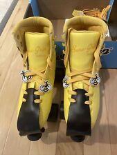 Sure-Grip Fame Golden Hour Indoor Roller Skates Size 5 (women's 7) With Extras!