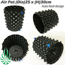 Air Prunning 13.2L Grow Pot 25x30cm With Solid Auto Feeding Design Base Root Pot