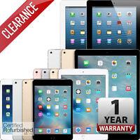 Apple iPad | 2,3,4,Mini,Air,Pro | Wi-Fi Tablet | 16GB 32GB 64GB 128GB 256GB