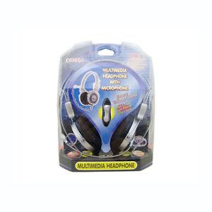 Omega Multimedia Headphone with Microphone HPM-10