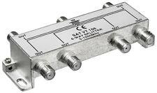 1 Verteiler 6-fach für BK,TV und Radio 5-1000 MHz