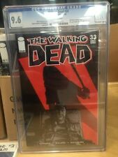 THE WALKING DEAD BY KIRKMAN #33 CGC 9.6 MICHONNE'S REVENGE! HOT!