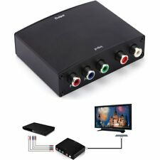 Component Video RGB YPBPR to HDMI+L/R Converter Adapter For Converter Adapter JL