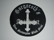 GORGOROTH ANTICHRIST EMBROIDERED PATCH