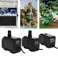 500L/H 7W 1500L/H 25W 2500L/H 45W Tauchpumpe Wasserpumpe Aquarium Teich Pumpe