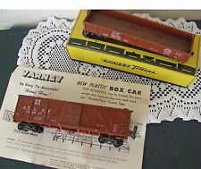 2 VINTAGE VARNEY HO TRAIN CAR MODELS ONE WITH BOX THE OTHER WITH PAPERS