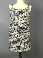 Promod dress tunic US-10,UK-12, EUR-42 sleeveless, yellow black white above knee