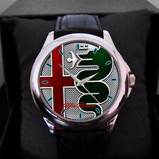 Hot Alfa Romeo Logo new Car Custom Men's Unisex Watches