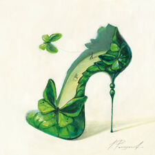 Inna Panasenko: Sketches of Love IV Fertig-Bild 30x30 Wandbild High Heel Kult