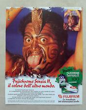 E545 - Advertising Pubblicità - 1997 - FUJIFILM FUJICHROME SENSIA II