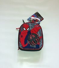 BNWT Marvels Ultimate Spiderman Deluxe Expandable Lunch Kit Bag