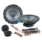 """*NEW* ALPINE® SPS-610C 6-1/2"""" 2-Way TYPE-S CAR COMPONENT SPEAKERS SYSTEM 6.5"""""""