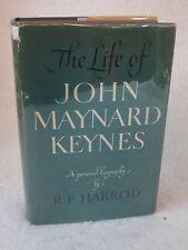 R. F. Harrod  THE LIFE OF JOHN MAYNARD KEYNES  1951 HC/DJ