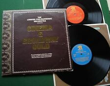 London Philharmonic Orch Cinema & Broadway Gold 50 Stage & Screen Themes LP x 2