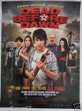 SDCC Comic Con 2013 EXCLUSIVE Dead Before Dawn movie promo poster FREE SHIPPING!