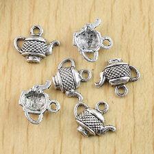 20pcs tebetan silver color crucifix design charms EF0214