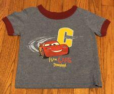 Disney Pixar CARS Lightning McQueen T-Shirt Size 2T - EUC
