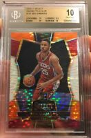 Pristine 10 BGS Ben Simmons Rookie Select Prizm Refractor Tri Color 2016