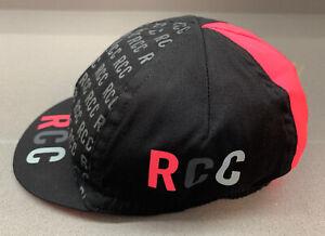 Rapha RCC Club Annual Cycling Cap Black Multi Ltd Edition Brand New One Size